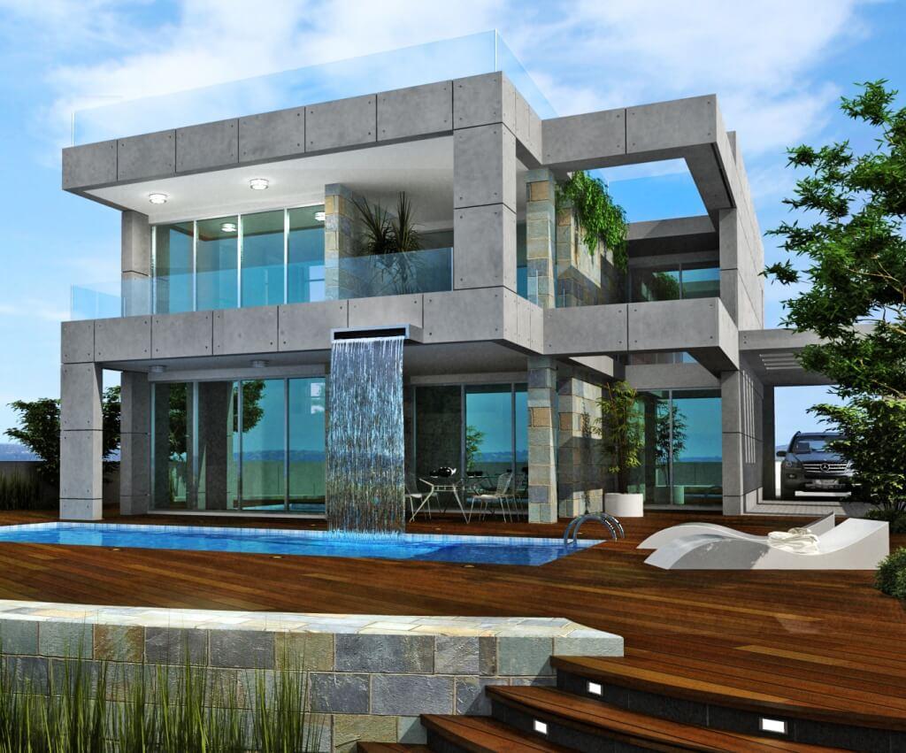 вчера проекты домов в стиле модерн фото ушки широко расставлены