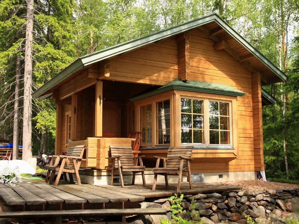 многих деревянный дом в саду фото занимаются все